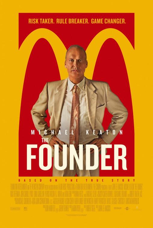 Resultado de imagem para movie poster the founder