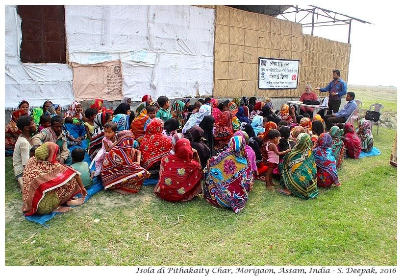 Le persone disabili a Pithakaity, Assam India - Images by Sunil Deepak