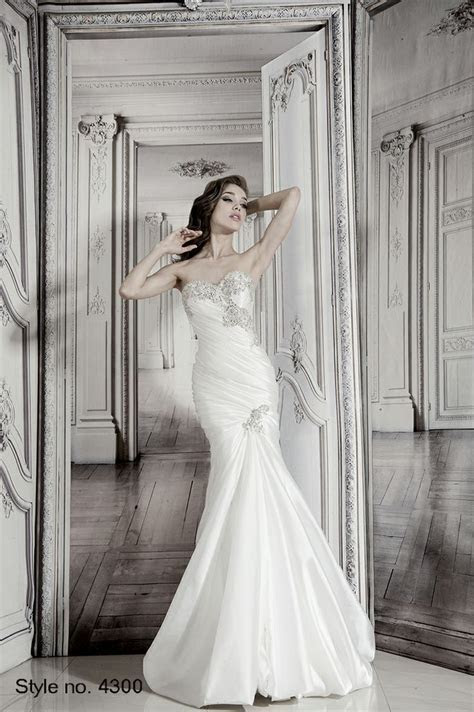 #pnina tornai #bridal dress style no. 4300 front   Pnina