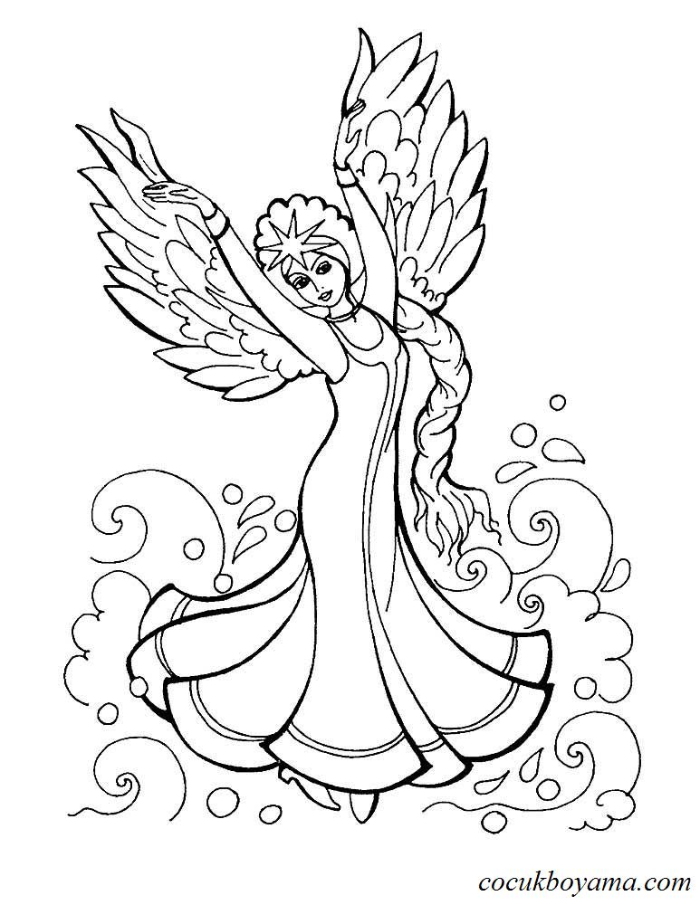 Kuğu Prenses The Swan Princess ücretsiz Boyama Resimleri