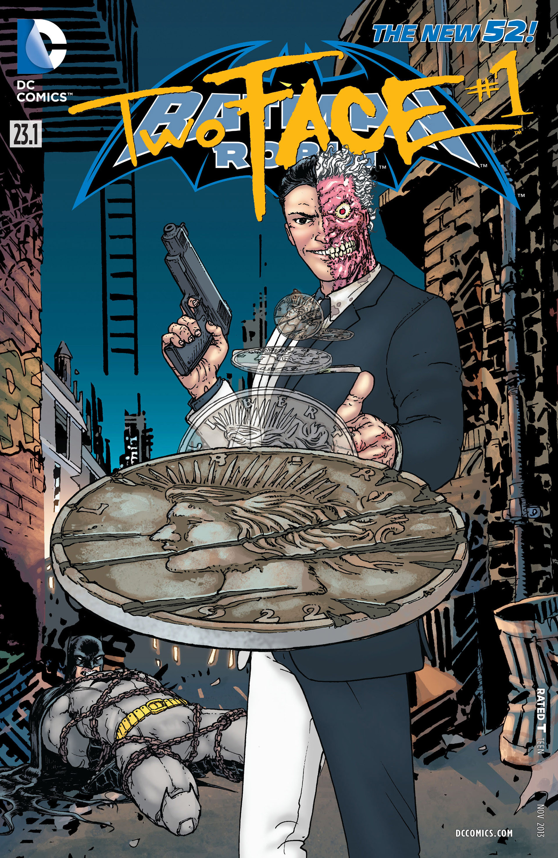 Resultado de imagem para BATMAN E ROBIN # 23.1