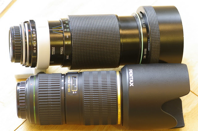 product and test shots of Tamron sp 80-200mm f/2.8 adaptall-2 30A