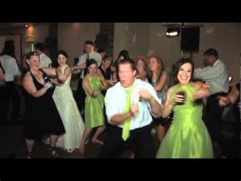 Best Reception Dance Ever! Fun Wedding Video   YouTube