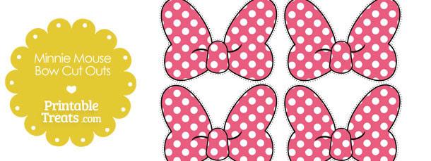 Printable Minnie Mouse Bow Zlatanfontanacountryinncom