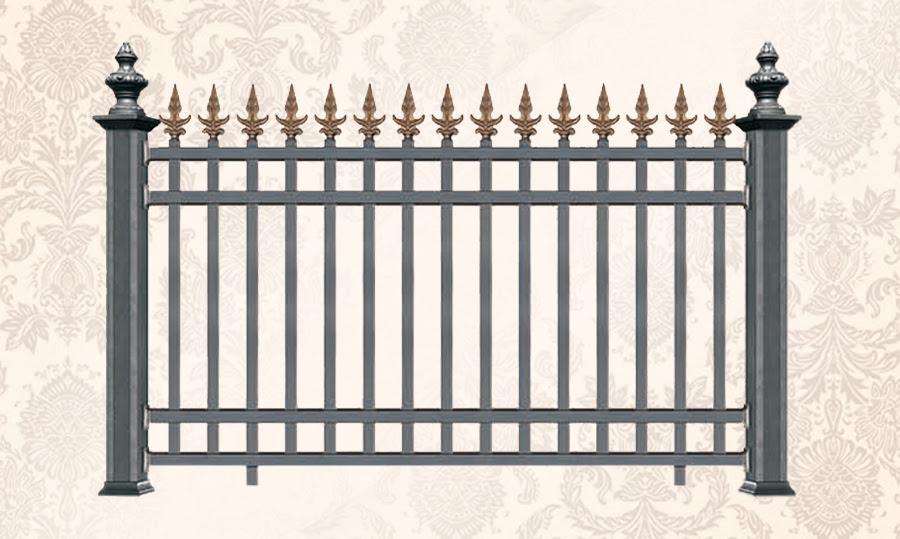 Aluminum Fence Panels For Boundary Wall Jtgate