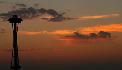 Spaceneedle Sunset