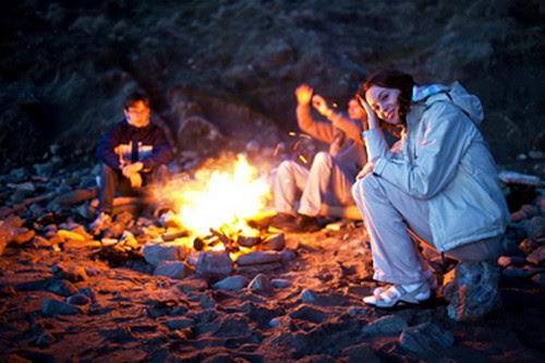 campfire prank