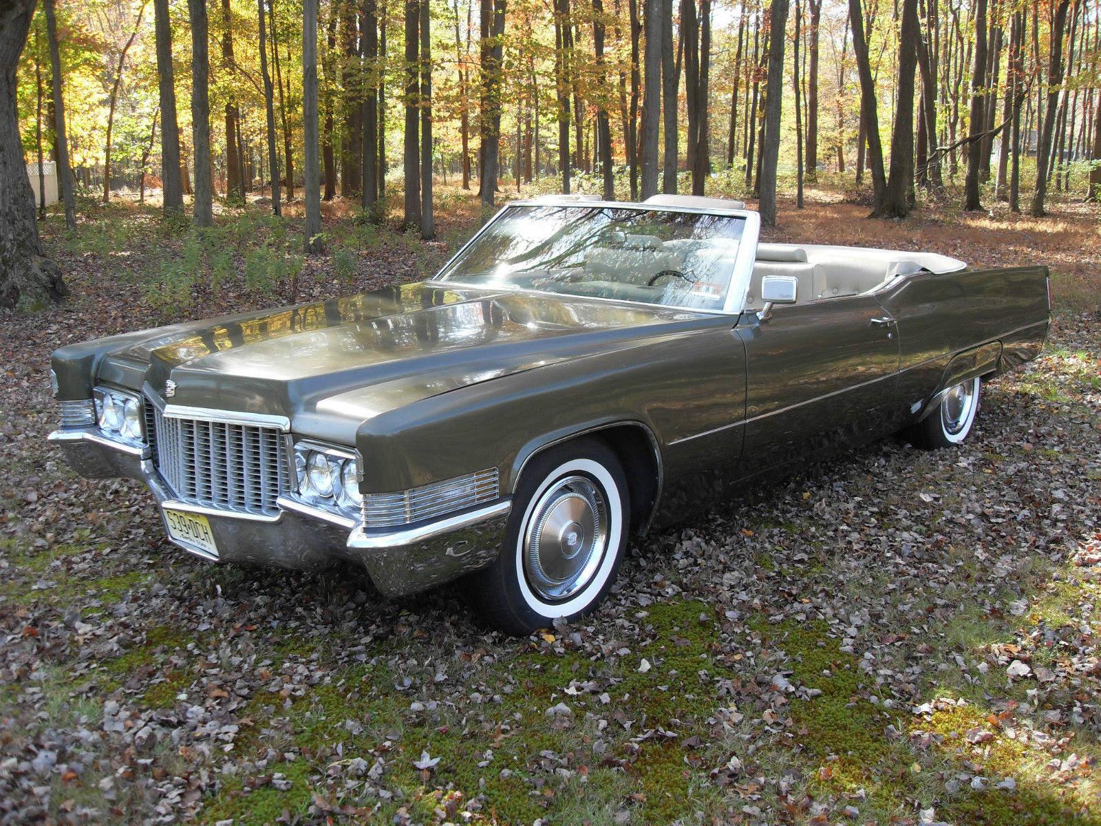 1970 Cadillac DeVille Convertible 65000 miles - low ...