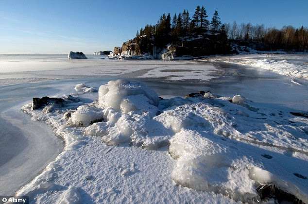 Lake Superior has never had more than 91 per cent ice cover since records began