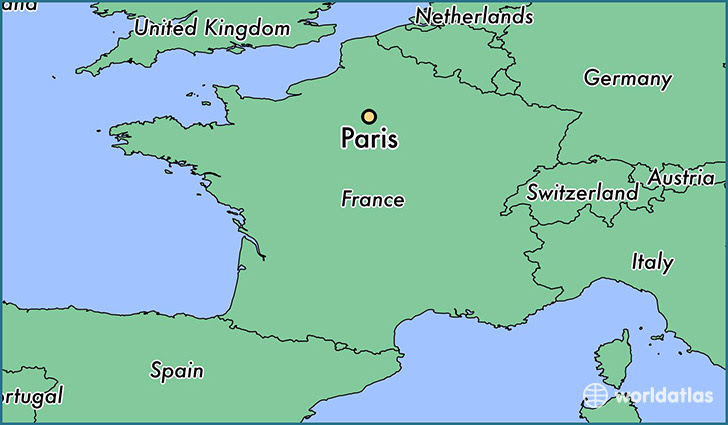 What Continent Is Paris In