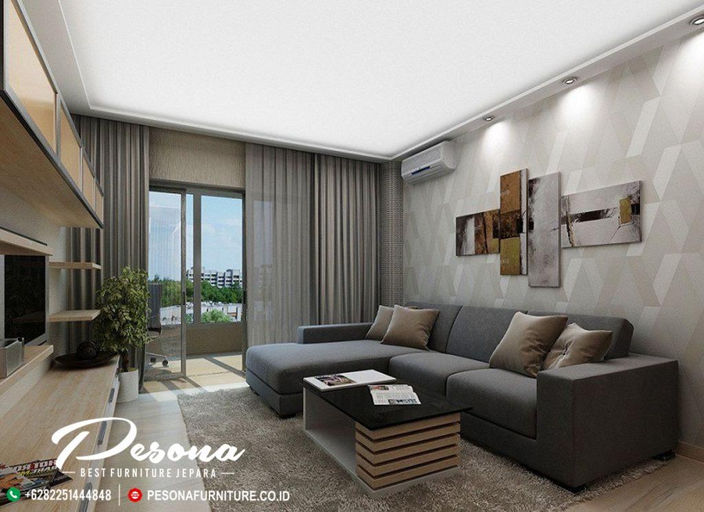 Desain Sofa Ruang Tamu Dengan Model Minimalis Modern Terlaris Pesona Furniture