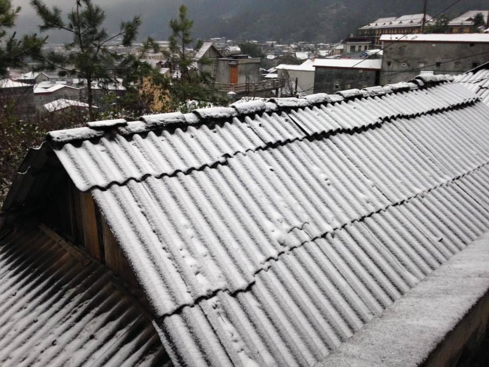 băng tuyết, Sa Pa 2016, tuyết rơi Sa Pa 2016, Sa Pa tuyết rơi