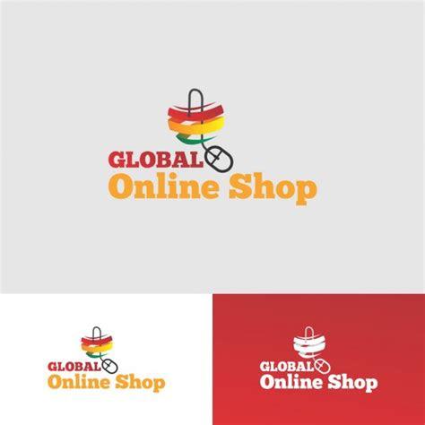 shop logo design  vectors ui