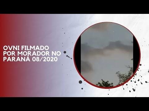 OVNI FILMADO POR MORADOR NO PARANÁ