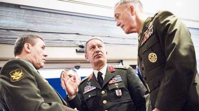 Πολεμικό κλίμα και τρομαχτική επιδείνωση των σχέσεων Τουρκίας-ΗΠΑ: Ο Χ.Ακάρ απείλησε τους Αμερικανούς με ολοκαύτωμα στην Ιεράπολη! – Ενισχύσεις στέλνουν Άγκυρα και Ουάσινγκτον – Η Ρωσία κρατάει στα χέρια της τη μοίρα της Τουρκίας - Εικόνα2