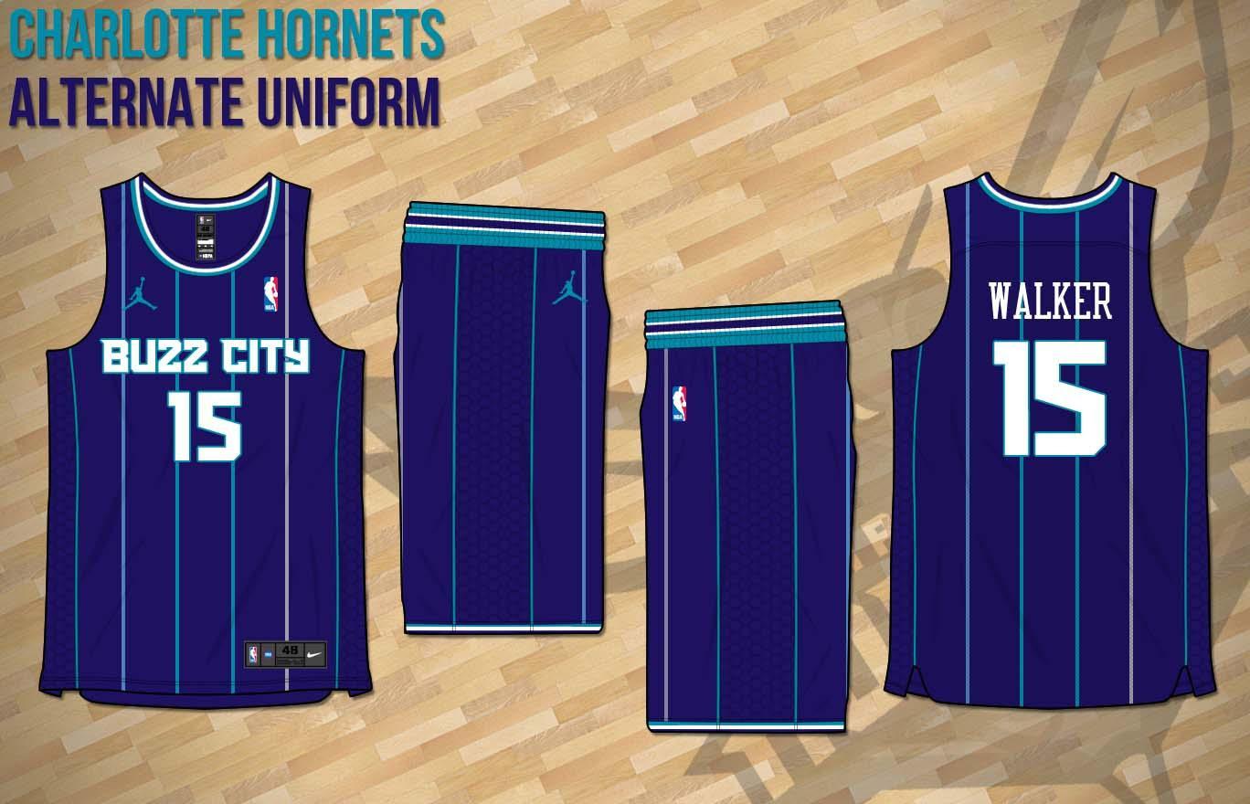 Buzz City Jersey Concept Charlottehornets
