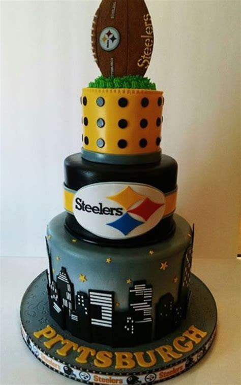 Steelers cake   Cakes   Pittsburgh steelers football, Go