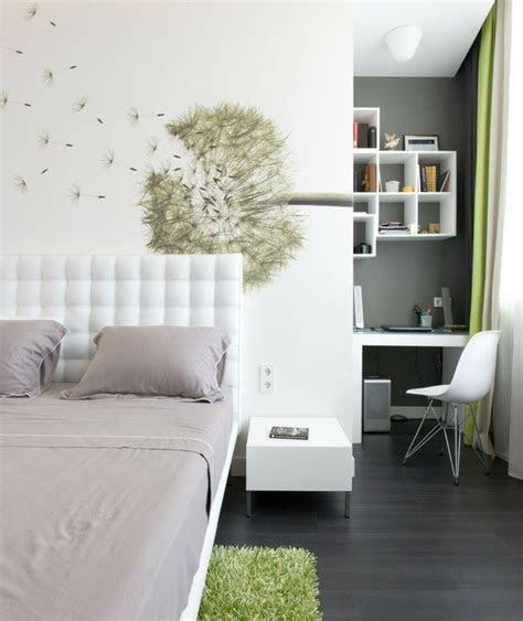 schlafzimmer deko ideen wand dekoideen pusteblume weisse