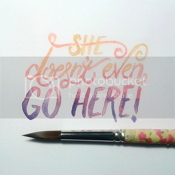Happiness is... #DecemberDoodles Instagram Lettering Project