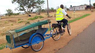 africa bike hosptial transport