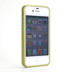 iPhone4S用バンパー「GLIDE for iPhone4S」 (ナノグリーン)