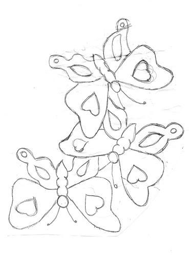 borboleta , by Vera Arte em Giz