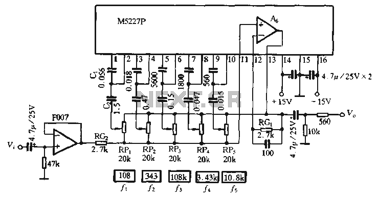 5 Band Equalizer Circuit Diagram - Wiring Diagram Networks