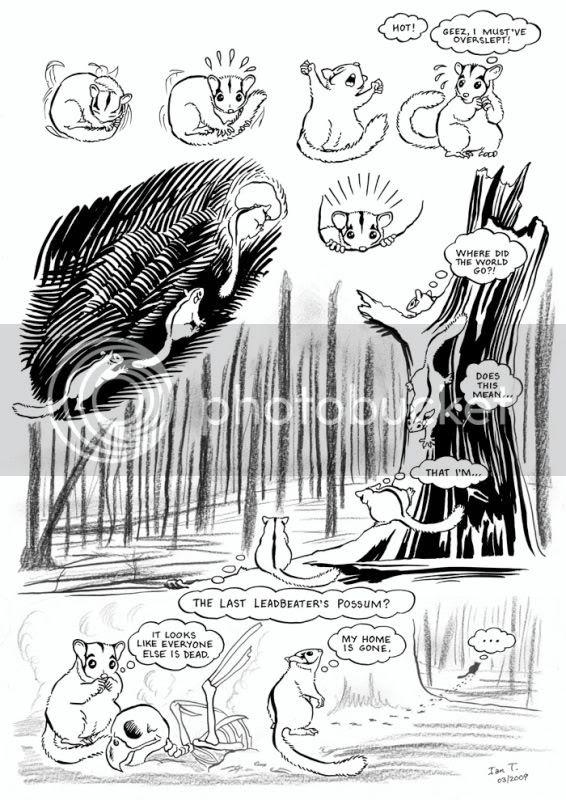 The Last Leadbeater's Possum by Ian C. Thomas
