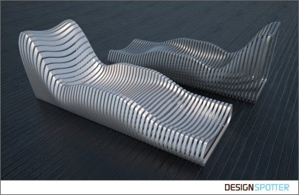 Aluminum Lounge Chair concept by Erick Sakal - Chair Blog