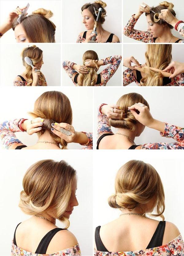 Vintage Frisuren Zum Nachmachen