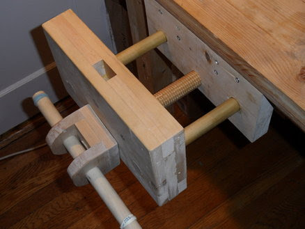 Woodwork Wooden Vice
