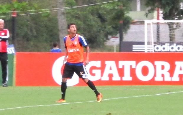 Pablo lateral Esquerdo Flamengo (Foto: Richard Souza)