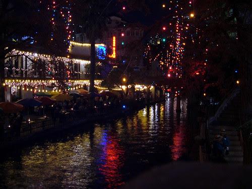 Riverwalk at Christmas