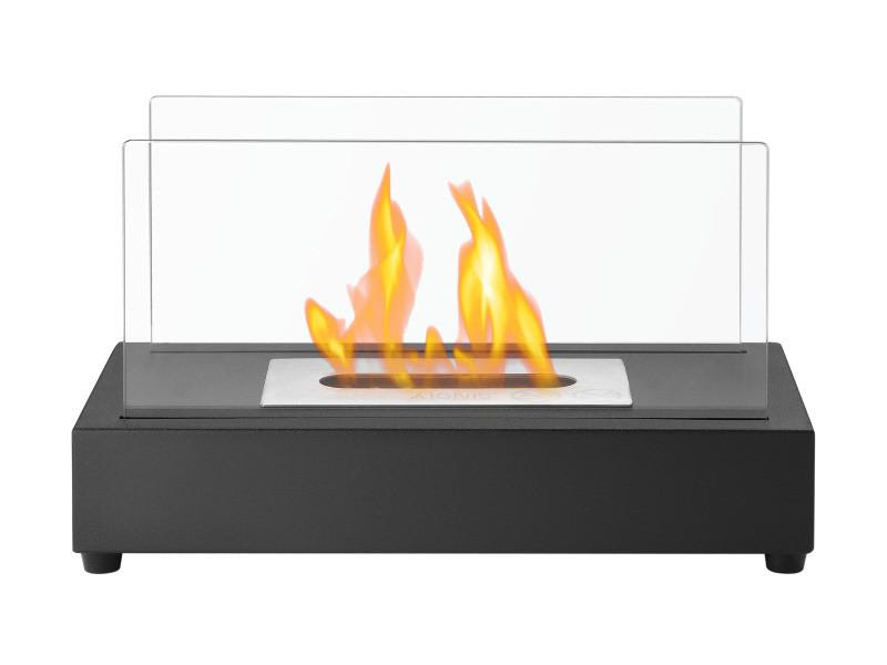 Ignis Tower Tabletop Ventless Ethanol Fireplace The Noble Flame