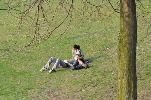 Berlin im Frühling