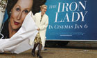 Meryl Streep attends a photocall for The Iron Lady in London