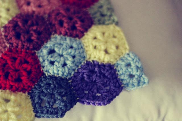 Mini Hexagon Pillow