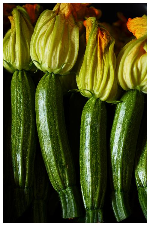 zucchini flowers© by Haalo