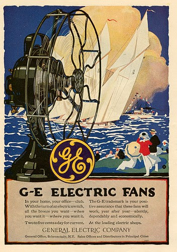 GE Electric Fans