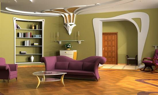 Pop Design For Both Wall And Ceiling Gharexpert