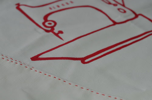 Featherweight tea towel from Berene