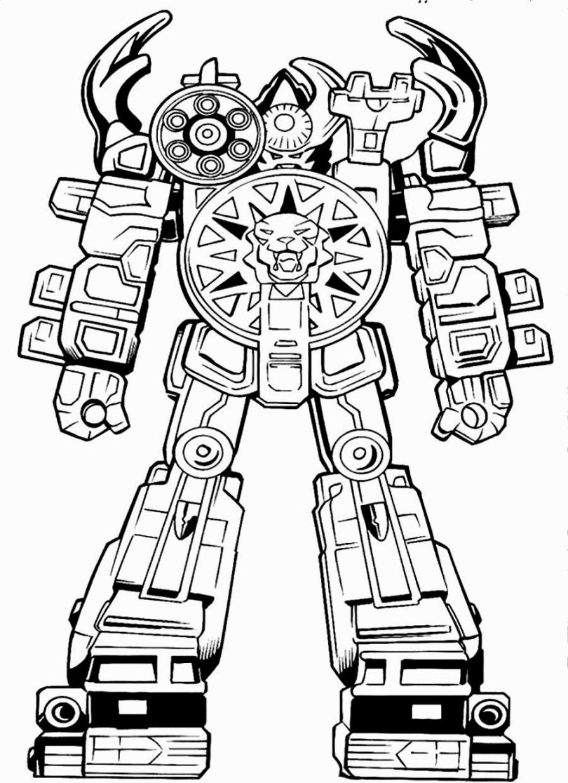 Power Rangers Coloring Pages Online At Getdrawingscom Free For