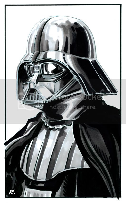 Graeme Neil Reid,Illustration,Star Wars,Darth Vader