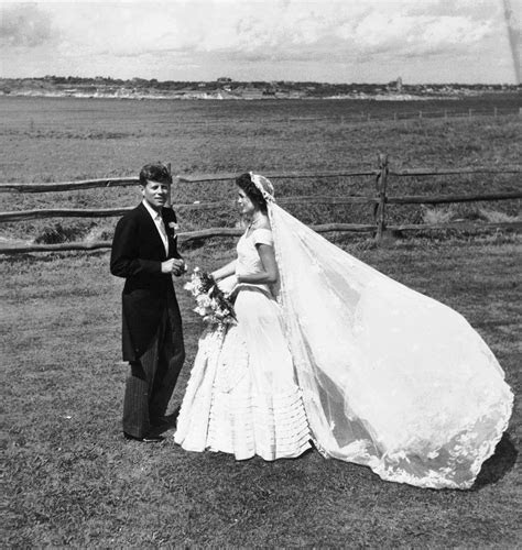 Jackie Kennedy Wedding Dress Pictures: Photos of JFK