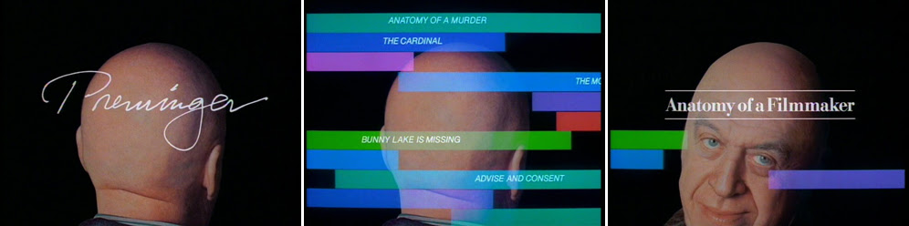 Saul Bass Preminger: Anatomy of a Filmmaker 1991 title sequence