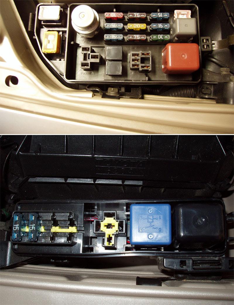 1993 Toyotum Camry Fuse Box Location