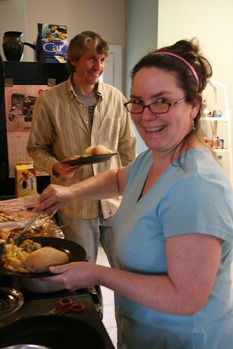 Chef Lisa and Dennis