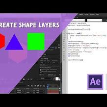 Cara Membuat Shape Layers Di After Effects Menggunakan Script