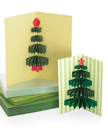 sete modelos cartao natal artesanal presentear amigos familiares papel scrapbook cartolina (4)