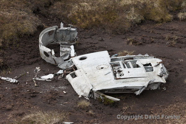 06D-8434 Aircraft Wreckage from a Gloster Meteor NF11 (Serial No WD778)